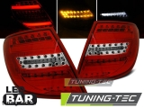 MERCEDES C-KLASA W204 KOMBI 07-10 RED WHITE LED BAR Tuning-Tec Hátsó Lámpa