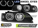 BMW E39 09.95-06.03 ANGEL EYES LED D2S/H7 BLACK Tuning-Tec Fényszóró