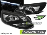 FORD FOCUS MK3 11- TUBE LIGHTS BLACK Tuning-Tec Fényszóró