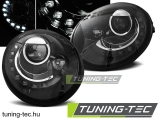VW NEW BEETLE 10.98-05.05 LED BLACK Tuning-Tec Fényszóró