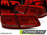 VW PASSAT B7 SEDAN 10.10-10.14 RED WHITE LED Tuning-Tec Hátsó Lámpa