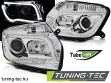 DACIA DUSTER 04.10- CHROME TUBE LIGHT Tuning-Tec Fényszóró
