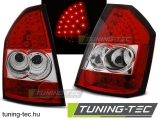 CHRYSLER 300C/300 09-10 RED WHITE LED Tuning-Tec Hátsó Lámpa