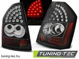 CHRYSLER 300C/300 09-10 BLACK LED Tuning-Tec Hátsó Lámpa