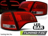 AUDI A4 B7 11.04-03.08 AVANT RED WHITE LED BAR  Tuning-Tec Hátsó Lámpa
