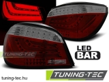BMW E60 07.03-02.07-12.09 RED SMOKE LED BAR Tuning-Tec Hátsó Lámpa