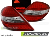 MERCEDES R171 SLK 04-11 RED WITE LED Tuning-Tec Hátsó Lámpa