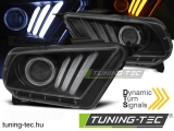 FORD MUSTANG V 10-13 TUBE LIGHT BLACK Tuning-Tec Fényszóró