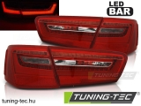 AUDI A6 C7 11-10.14 RED WHITE LED  Tuning-Tec Hátsó Lámpa