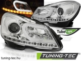 MERCEDES W204 11-14CHROME TUBE LIGHT Tuning-Tec Fényszóró