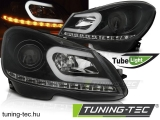 MERCEDES W204 11-14 BLACK TUBE LIGHT Tuning-Tec Fényszóró