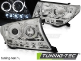 TOYOTA LAND CRUISER FJ200 07-12 ANGEL EYES CHROME Tuning-Tec Fényszóró