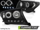 TOYOTA LAND CRUISER FJ200 07-12 ANGEL EYES BLACK Tuning-Tec Fényszóró