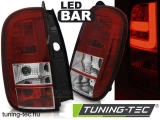 DACIA DUSTER 04.10- LED BAR RED WHITE Tuning-Tec Hátsó Lámpa