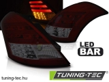 SUZUKI SWIFT IV 10- RED SMOKE LED BAR Tuning-Tec Hátsó Lámpa