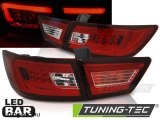 RENAULT CLIO IV 13- HATCHBACK LED BAR RED WHITE Tuning-Tec Hátsó Lámpa