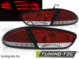 SEAT LEON 03.09-13 RED WHITE LED  Tuning-Tec Hátsó Lámpa