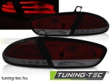SEAT LEON 03.09-13 RED SMOKE LED Tuning-Tec Hátsó Lámpa