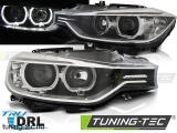BMW F30 / F31 10.11 - 05.15 ANGEL EYES LED BLACK Tuning-Tec Fényszóró