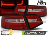 AUDI A6 08-11 SEDAN RED WHITE LED BAR SEQ Tuning-Tec Hátsó Lámpa