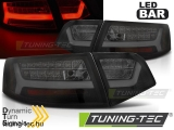 AUDI A6 08-11 SEDAN BLACK SMOKE LED BAR SEQ Tuning-Tec Hátsó Lámpa