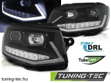 VW T6 15- BLACK TUBE LIGHT LED DRL Tuning-Tec Fényszóró