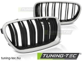 BMW F10 / F11 10-16 M5 LOOK CHROME BLACK Tuning-Tec Hűtőrács