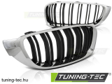 BMW F32,F33,F36 13- M4 LOOK CHROME BLACK Tuning-Tec Hűtőrács