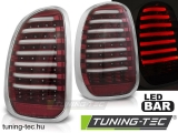 MINI R60 COUNTRYMAN 10-14 RED WHITE LED BAR Tuning-Tec Hátsó Lámpa