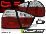 BMW E90 03.05-08.08 RED WHITE LED BAR  Tuning-Tec Hátsó Lámpa
