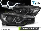 BMW F30/F31 10.11 - 05.15 ANGEL EYES LED BLACK DRL Tuning-Tec Fényszóró
