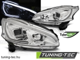 PEUGEOT 208 4.12-06.15 TUBE LIGHT CHROME Tuning-Tec Fényszóró