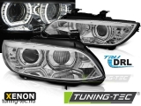 BMW E92/E93 06-10 ANGEL EYES LED CHROME HID Tuning-Tec Fényszóró