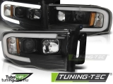 DODGE RAM 02-06 TUBE LIGHT BLACK Tuning-Tec Fényszóró