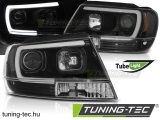 CHRYSLER JEEP GRAND CHEROKEE 99-05.05 TUBE LIGHT BLACK  Tuning-Tec Fényszóró