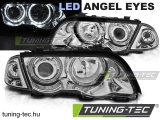 BMW E46 05.98-08.01 S/T ANGEL EYES LED CHROME Tuning-Tec Fényszóró