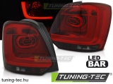 VW POLO 09-13 RED SMOKE LED BAR Tuning-Tec Hátsó Lámpa