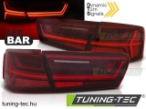 AUDI A6 C7 11-14 LIMOUSINE RED WHITE LED BAR SEQ  Tuning-Tec Hátsó Lámpa