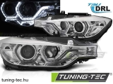 BMW F30/F31 10.11 - 05.15 ANGEL EYES LED CHROME DRL Tuning-Tec Fényszóró