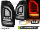 VW T6 2015- BLACK SEQ LED BAR OEM BULB Tuning-Tec Hátsó Lámpa