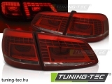 VW PASSAT B7 VARIANT 10.10-10.14 RED WHITE LED Tuning-Tec Hátsó Lámpa