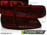 VW PASSAT B7 VARIANT 10.10-10.14 RED SMOKE LED Tuning-Tec Hátsó Lámpa