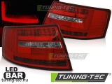 AUDI A6 C6 SEDAN 04.04-08 RED WHITE LED BAR 6-PIN  Tuning-Tec Hátsó Lámpa