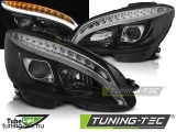 MERCEDES W204 07-10 BLACK TUBE LIGHT H7 Tuning-Tec Fényszóró