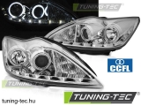 FORD FOCUS II 02.08-10 ANGEL EYES CCFL CHROME  Tuning-Tec Fényszóró