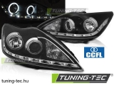 FORD FOCUS II 02.08-10 ANGEL EYES CCFL BLACK  Tuning-Tec Fényszóró
