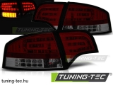 AUDI A4 B7 11.04-03.08 SEDAN RED SMOKE LED Tuning-Tec Hátsó Lámpa