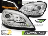 MERCEDES W164 ML M-KLASA 05-07 CHROME LED  Tuning-Tec Fényszóró