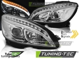 MERCEDES W204 07-10 CHROME TUBE LIGHT H7 Tuning-Tec Fényszóró
