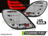 PEUGEOT 207 3D/5D 05.06-06.09 CHROME LED BAR Tuning-Tec Hátsó Lámpa